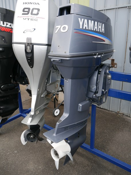 New boats largest range on display at jv marine world for Yamaha 90 outboard weight