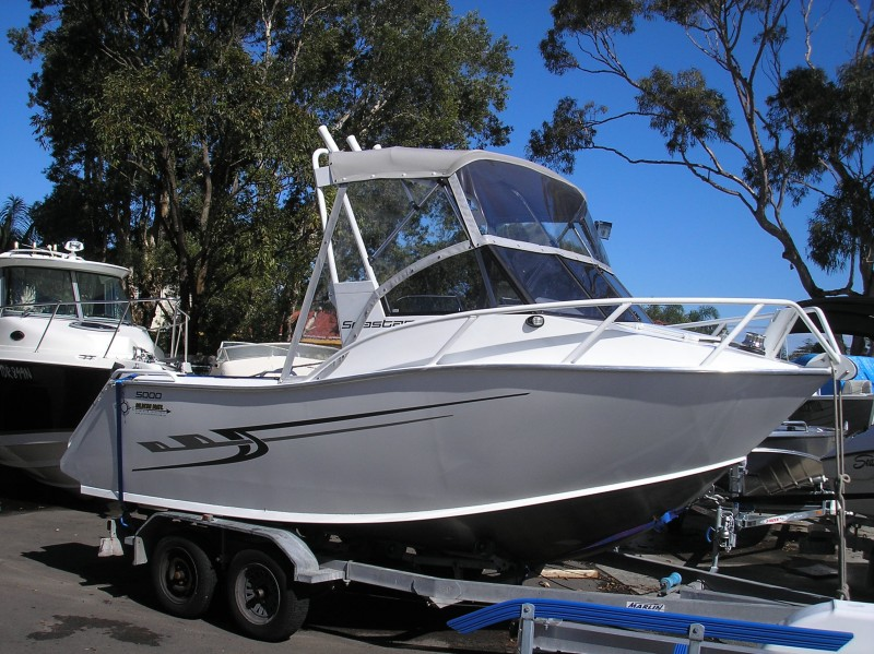 Goldstar 500 Seastar Plate Hull Enterprise