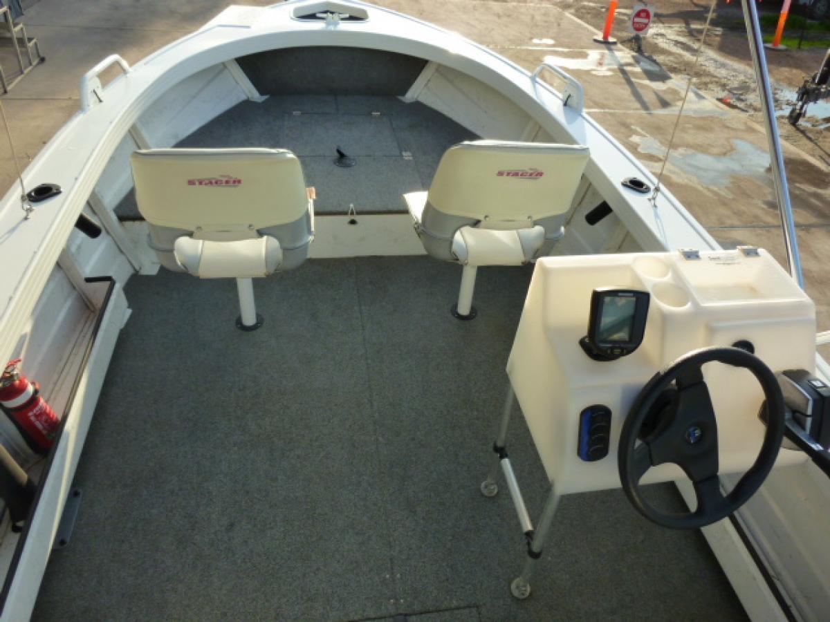Stacer 469 Nomad Elite Side Console Jv Marine Melbourne