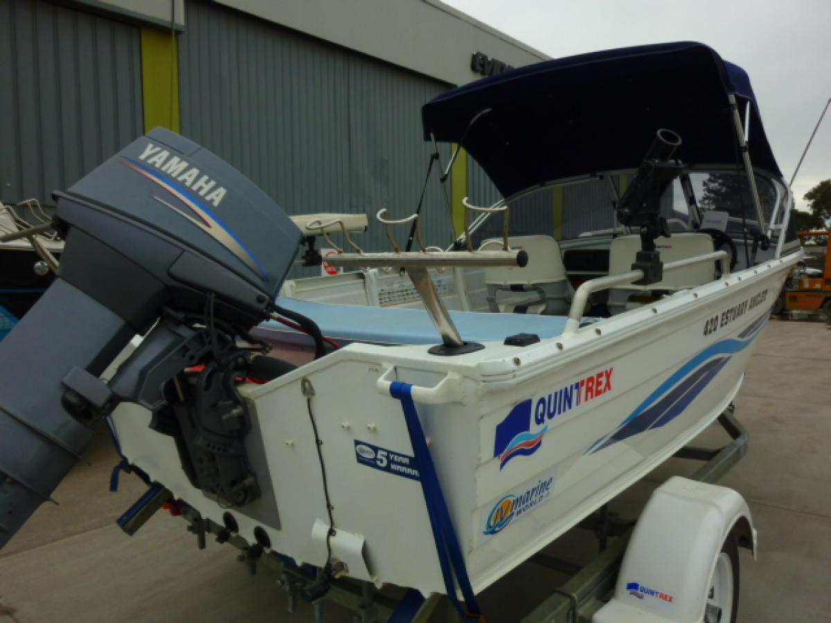 Quintrex 420 Estuary Angler Jv Marine Melbourne